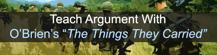 a literary analysis of the things they carried by obrien The things they carried by tim o'brien the things they carried first lieutenant jimmy cross carried letters from a girl named martha, a junior at mount sebastian college in new jersey.