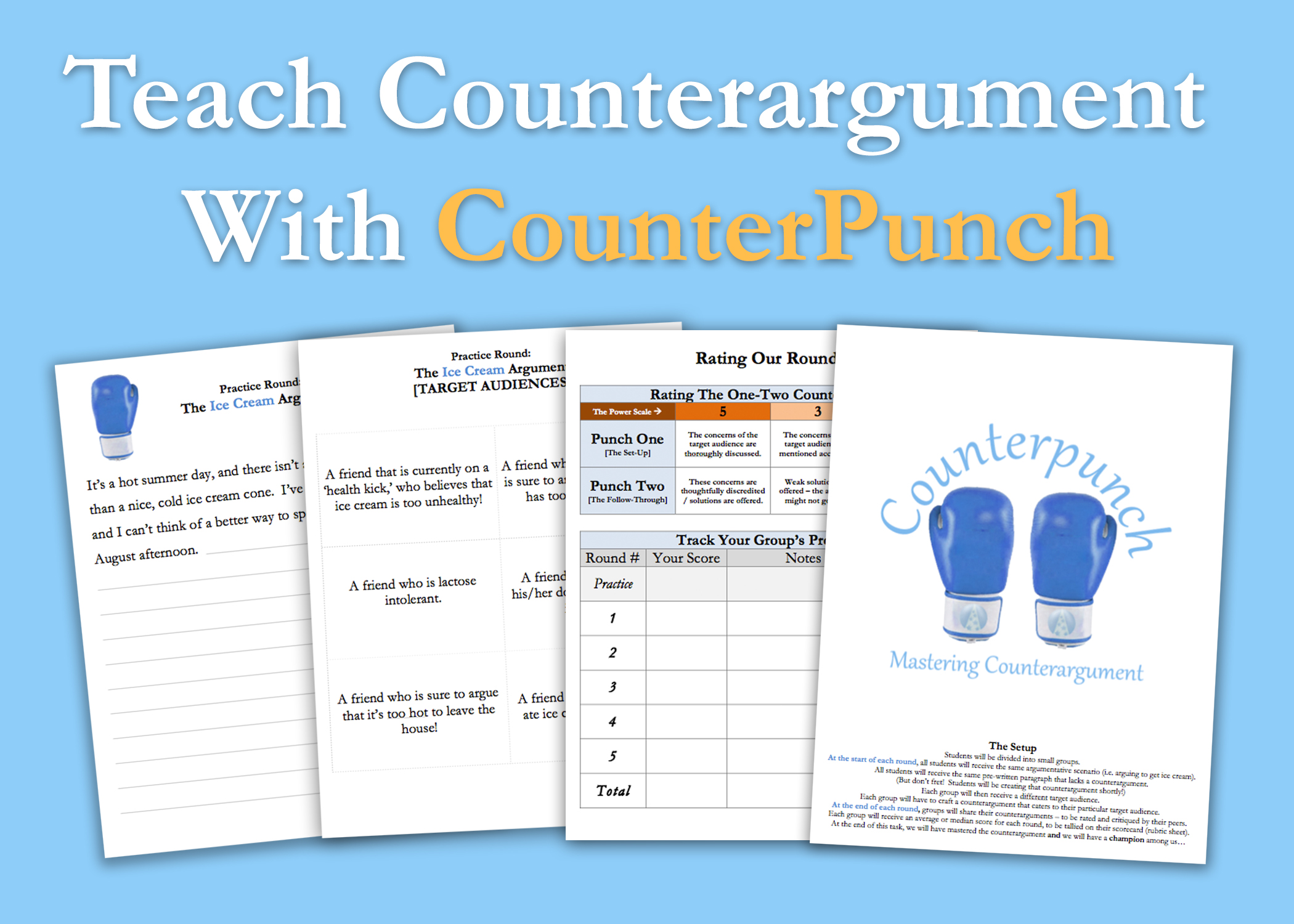 Counterargument lesson plan