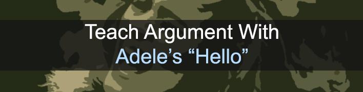 11 - Adele Hello Banner