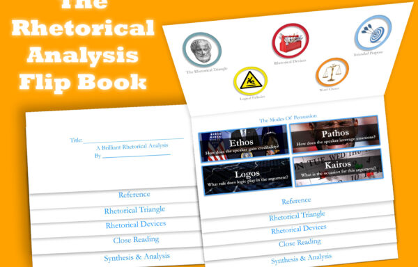 The Flipbook: Guided Rhetorical Analysis