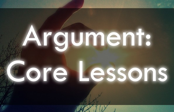 Core Argument Lessons