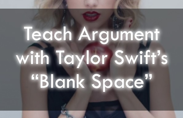 "Taylor Swift's ""Blank Space"" Lesson Plans"