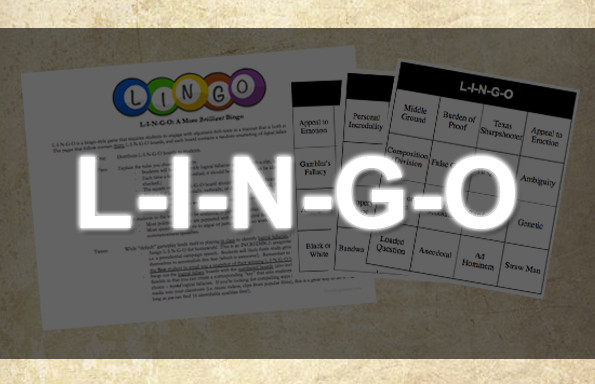 L-I-N-G-O: Bingo For The Brilliant