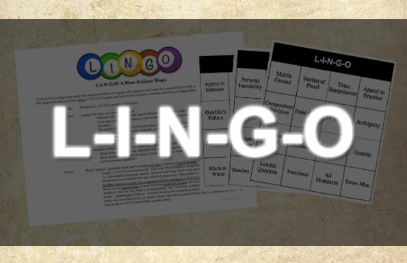 L-I-N-G-O: Bingo For The Brilliant