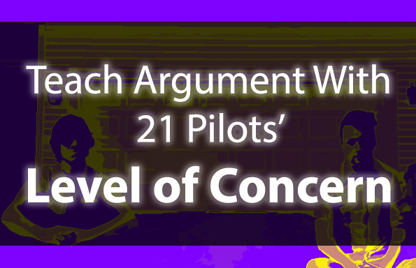 "Teach Argument With 21 Pilots' ""Level of Concern"""